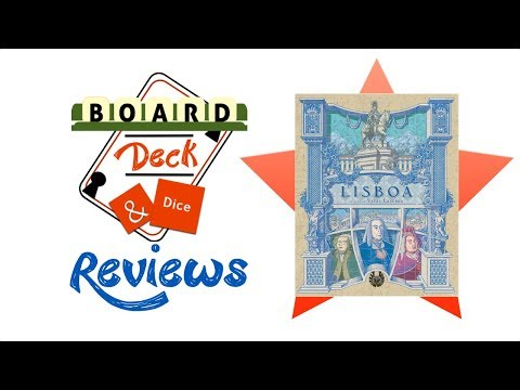 Board, Deck and Dice Review #146 - Lisboa