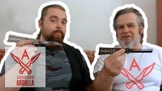 Нож бабочка Уроки от Александра Герцена