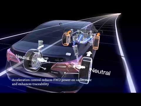 2014 Acura RLX: Precision All-Wheel Steer Demonstration