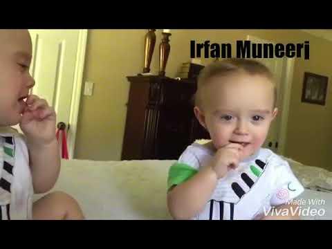 התאום המרושע והסוכרייה - סרטון מצחיק שיעשה לכם את היום