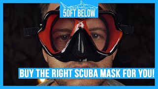 Choose the Right Scuba Mask | 4 easy steps