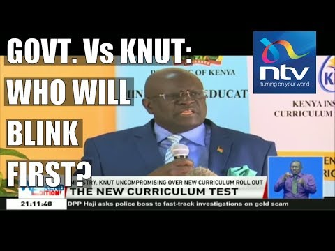 KNUT claim the ministry of education is uncompromising over new curriculum roll out