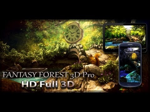 Video of Fantasy Forest 3D Free