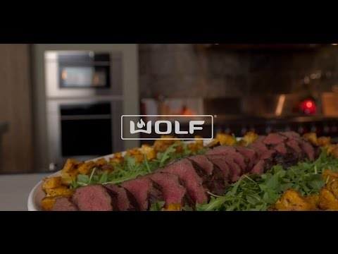 Wolf Convection Steam Oven Roast with precision