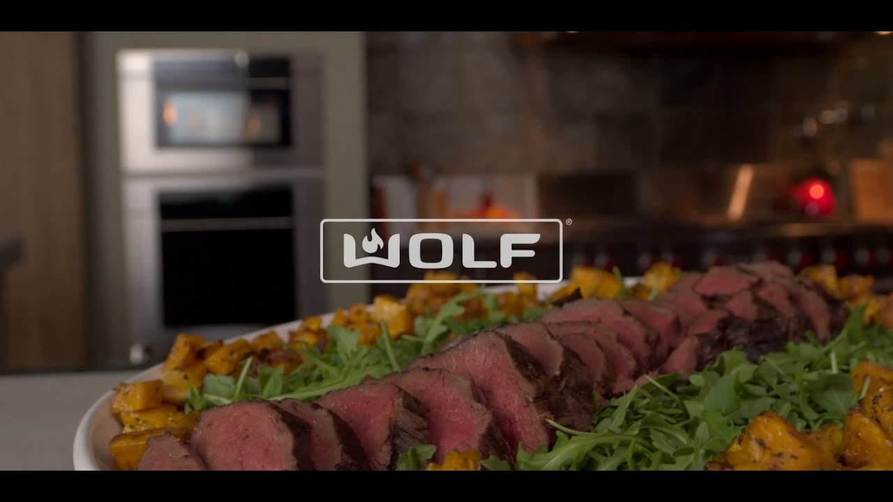 Wolf Convection Steam Oven: Roast with precision