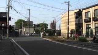 熊本電鉄 藤崎線 黒髪町駅ー藤崎宮前駅