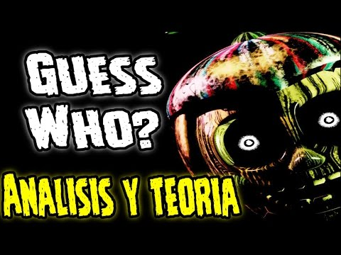 Guess Who? Analisis y Teoria | Five Nights At Freddy's 3 New Teaser Trailer | fnaf 3