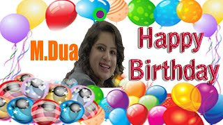 Actress || Mallika Dua | Happy Birthday Status | Greeting & Wishes | Short Bio