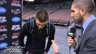 NICK DIAZ UFC 143 INTERVIEW GSP BEING SCARED CHILDHOOD AND CALLS UFC LIARS FUCKERS
