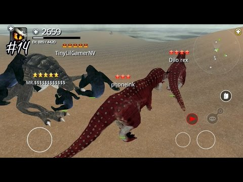 Dinos Online - Turn into a Carnotaurus - Android / iOS - Gameplay Part 14