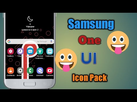 Android 9 0 Pie icon pack for for all samsung devices