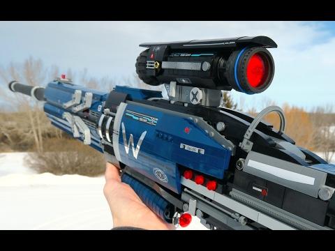 奪命的狙擊槍實體化 你跟我說這是樂高做的?