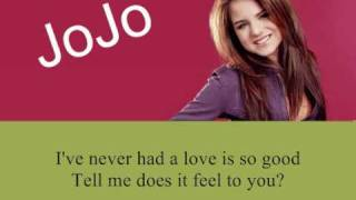 JoJo Hooked on You-With LYRICS-All I Want is Everything [New album]