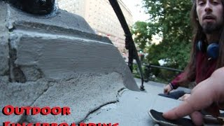 Outdoor Fingerboarding In Montreal