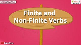 Learn English Grammar -- Finite and Non Finite Verbs