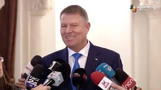 Iohannis: Faptul că PSD vrea să ameninţe cu moţiune de cenzură nu sperie pe nimeni