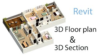 3D Plans and Sections in Revit