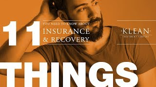 11 Things You Need To Know About Insurance and Recovery