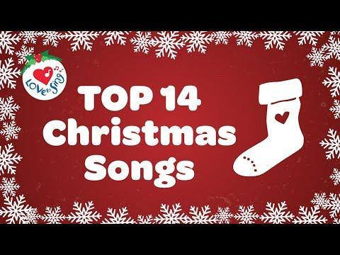 Top 14 Christmas Songs and Carols with Lyrics 2018 🎅