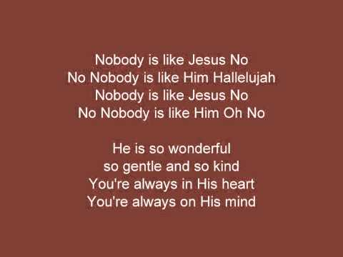 Download Nobody Is Like Jesus HD Mp4 3GP Video and MP3
