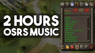 2 Hours of Classic Oldschool Runescape Music - Relaxing Soundtrack to Fall Asleep Too! [OSRS]