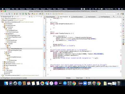 , title : 'Batch 8 Selenium with Cucumber-Dependency Injection Implementation-DI-TestContext-Part 8
