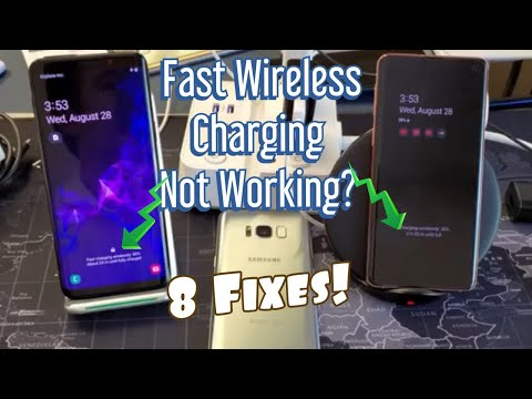 Galaxy S8/S9/S10: FAST WIRELESS Charge Not Working? 8 Solutions!