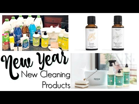 HUGE GROVE COLLABORATIVE HAUL! | NATURAL & NON TOXIC CLEANING PRODUCT HAUL | FAVE CLEANING PRODUCTS!