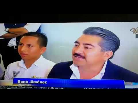 Fernsehinterview in Mexico zusammen mit unseren Kooperationspartnern