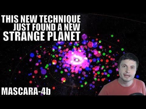 "Strange Planet Discovered Using New Technique ""Gravity Darkening"""