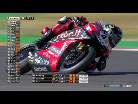 スーパーバイク世界選手権 SBK 第5戦トルエル(アラゴン)スーパーポール ハイライト動画