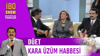Kara Üzüm Habbesi - İbrahim Tatlıses & Arif Sağ & Belkıs Akkale Düet - Canlı Performans