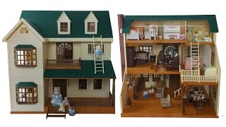 House On The Hill Room Tour Sylvanian Families (Calico Critters)