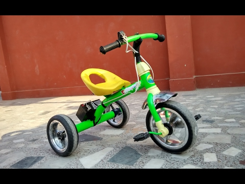 How to make electric Bike - KIDS Ride ON BIKE | Shamshad MAKER