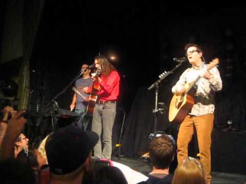 """Weezer - """"The Other Way"""" live acoustic - Bowery Ballroom, New York City, 10/27/14"""