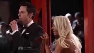 Christina Aguilera and Chris Mann - The Prayer