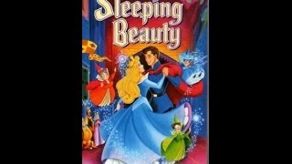 Digitized Opening To Sleeping Beauty (1996 VHS UK)