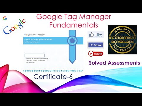 FREE GOOGLE CERTIFICATE IN MINUTES   GOOGLE TAG ...