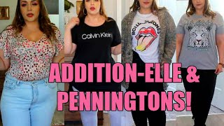 Addition-Elle & Penningtons Plus Size Try On Haul & Review!