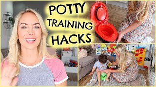 POTTY TRAINING HACKS  |  HOW TO POTTY TRAIN FAST - IN 4 DAYS  |  EMILY NORRIS