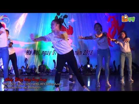 Nhảy Bống bống bang bang - GV Mầm Non Thang Long ngày 8/3