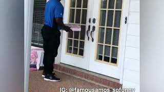 Famous Amos New I Bet  You Wont Challenge Darnel The Domino's delivery guy Dj IPod hypemane
