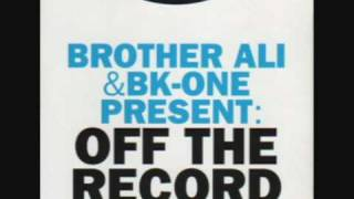 Pitch Black Noon - Brother Ali & BK One