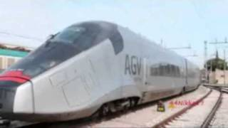 The futur of high-speed rail in France (TGV) and all over the world: