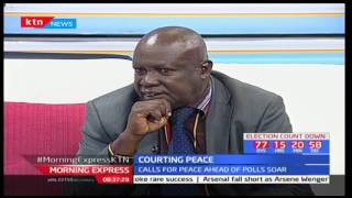 Morning Express: Courting peace ahead of August elections