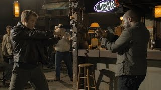 Fighting scene, Mark Valley vs Lennie James (in the saloon)