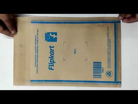 Myntra Printed Paper Courier Bag