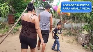 DINITA QUIERE TUMBAR LAS PAREDES, PERO DAVID Y DOÑA LITA LE PIDEN CALMA
