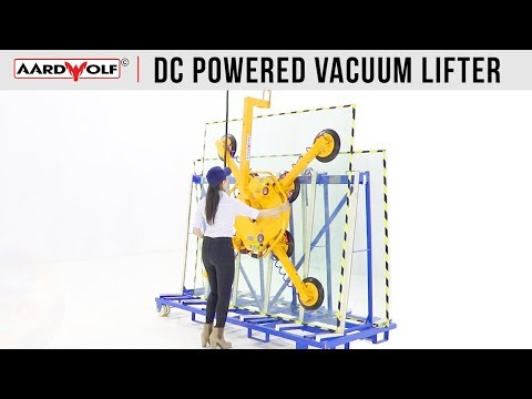 DC Powered Vacuum Glass Lifter (Dual System) ARGL-500DS