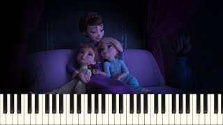 Frozen 2 - All Is Found - Evan Rachel Wood - For Piano Solo (Advanced) - Sheets available